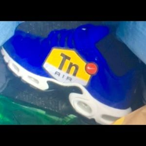 Nike Shoes - Nike air max plus hyper blue color